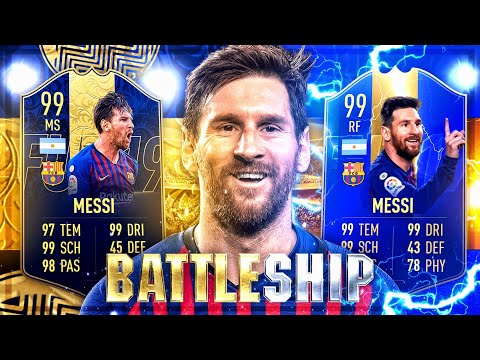 FIFA 19: MESSI TOTS vs MESSI TOTY Battleship Wager vs SkriptingKeller 😳🔥