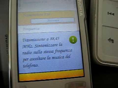 Nokia N79 FM transmitter