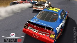 Nascar 07 - From first to last (PS2 Gameplay)