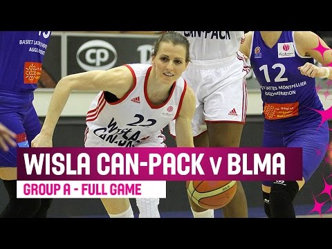 Wisla Can-Pack (POL) v BLMA (FRA) – Full Game – RS – 2014-15 EuroLeague Women