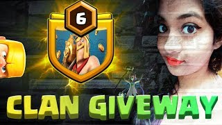 #cocgirl #girlgamer #truegamaholic level6 clan giveway clash of clans !