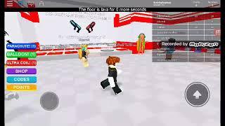 ROBLOX The floor is lava # bölüm 1