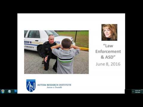 Law Enforcement Issues & ASD - Kimberly Taylor, JD