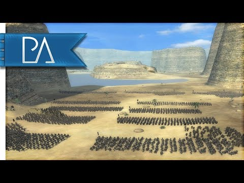 DEFENSE OF THE GREAT CANYON - Lord of the Rings - Third Age Total War Reforged Mod Gameplay
