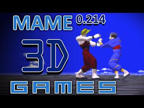 MAME 0.214 - 3D Games [4K@60]