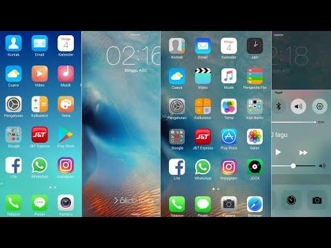 Cara Mengubah Tema Oppo Ke Iphone Ios 10 Youtube
