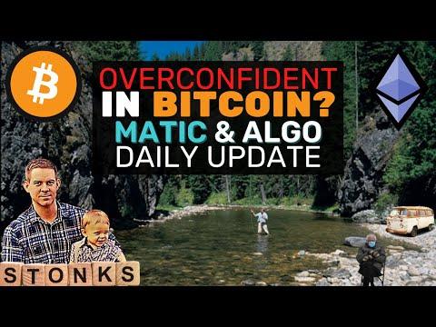 Overconfident In BITCOIN?! +MATIC \u0026 ALGO Setups \u0026 Tech Explanation - Daily Update