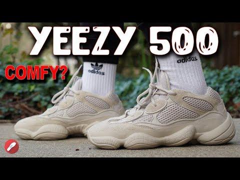 "Adidas Yeezy Desert Rat 500 ""Blush"" Review! Is it Comfortable?"