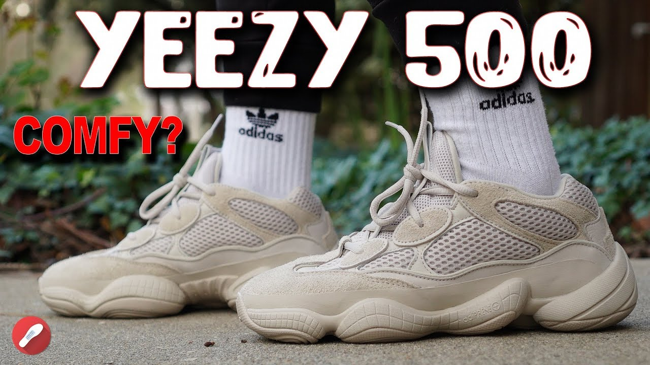 Adidas Yeezy Desert Rat 500 Blush Review Is It Comfortable Youtube
