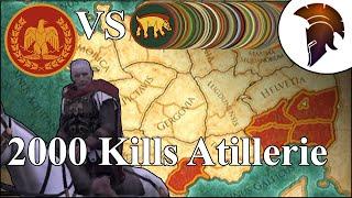 Total War Rome 2 | 2000 Kills Artillerie | This is Caesar #032 | German