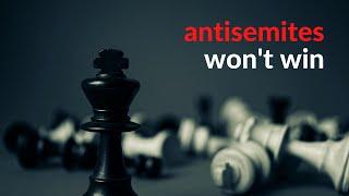 The antisemites won't win