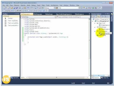 Học lập trình web - Giỏ hàng trong asp.net (isjsc.com)