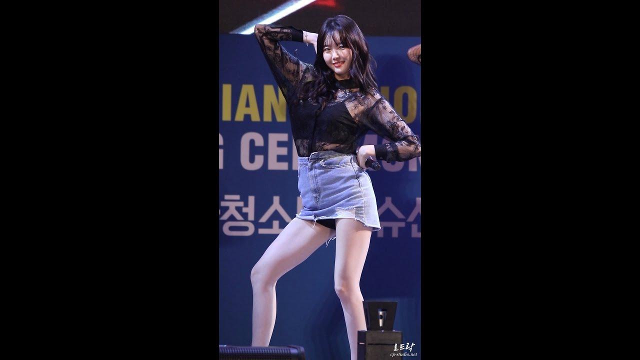 170916 달샤벳(DALSHABET) 세리 너같은 직캠(Fancam)/구미 아시아청소년우슈 by