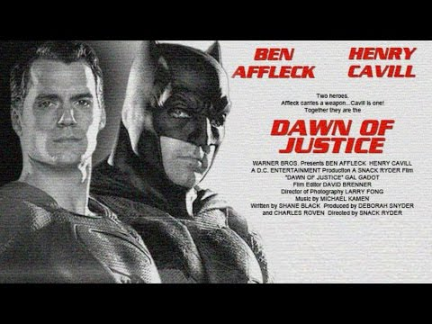 DAWN OF JUSTICE Trailer Fan Made