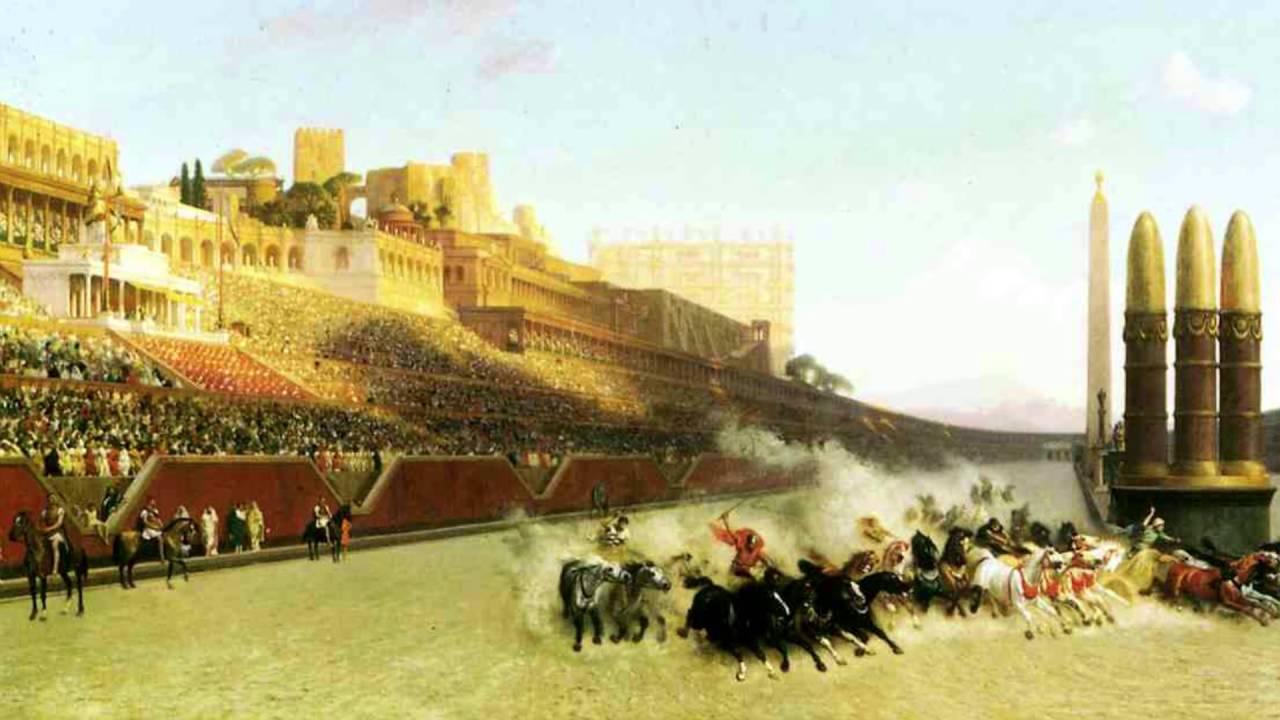 Wagenrennen Circus Maximus