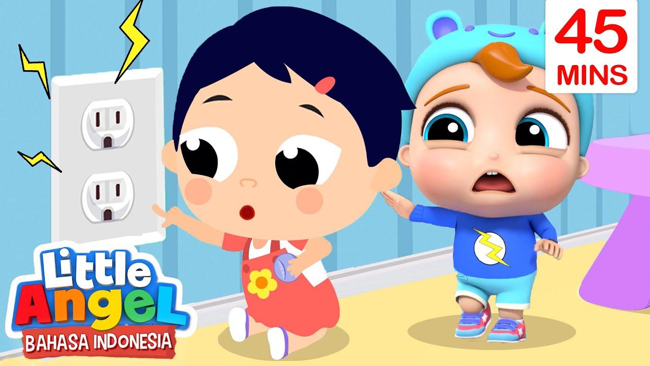 Download Jangan Pegang Colokan Listrik!   Kartun Anak   Little Angel Bahasa Indonesia