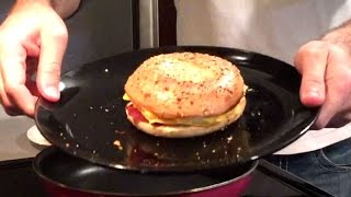 Video Tuesday Evening Bacon, Egg, and Cheese Bagel! download MP3, 3GP, MP4, WEBM, AVI, FLV Juni 2018