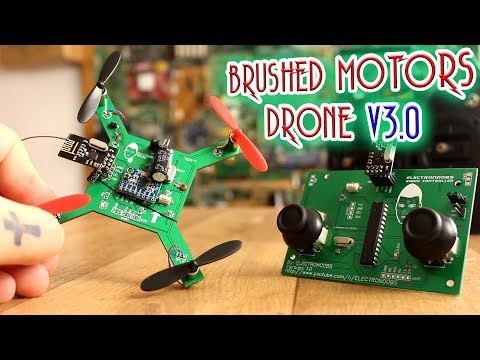 Arduino Brushed Motors DRONE - Part3 - It Finally Flies