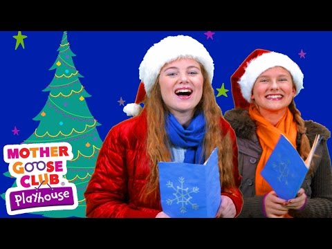 Christmas Song | Deck the Halls | Mother Goose Club Playhouse Video