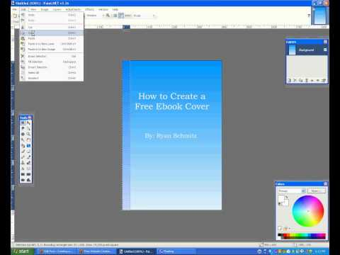 How to Create an Ebook Cover for Free - YouTube