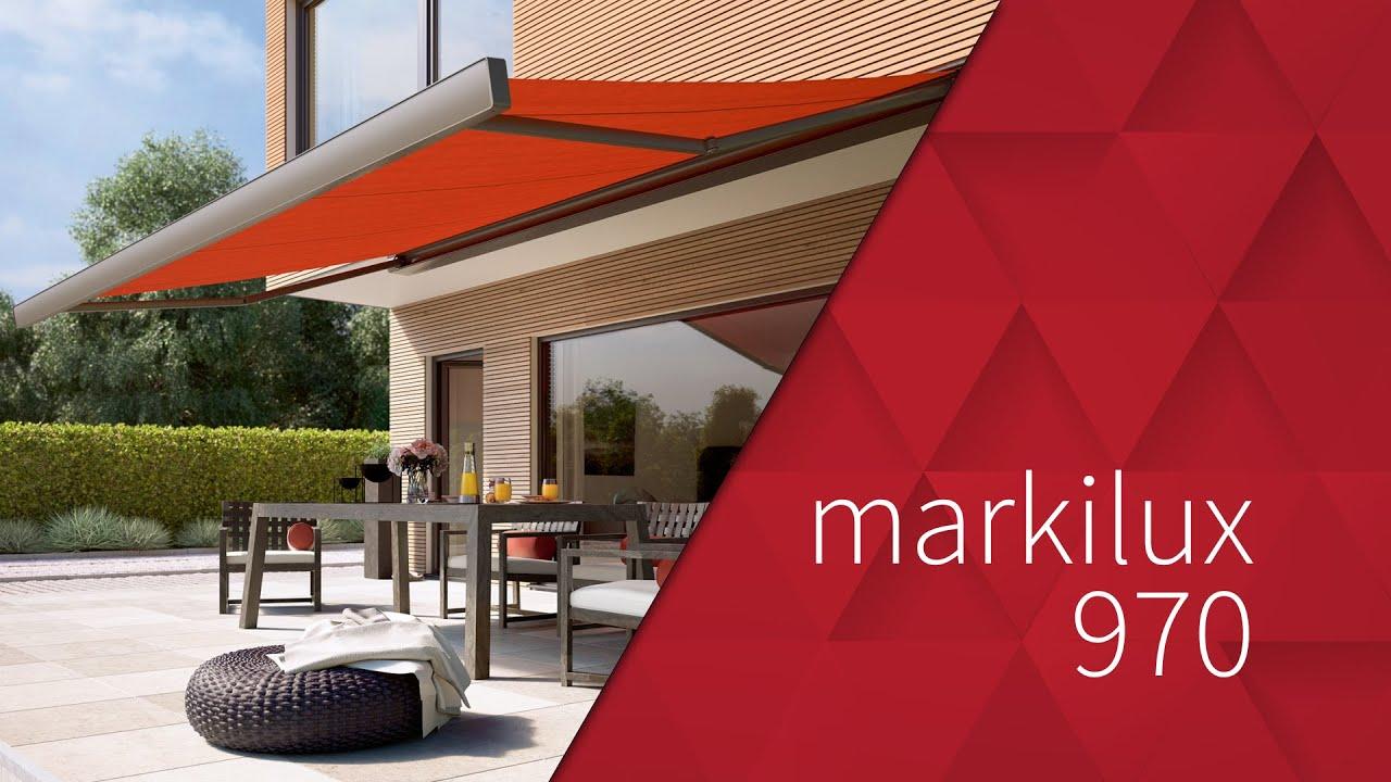 Markilux 970 Kassettenmarkise Youtube