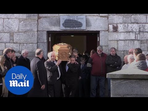 Mourners gather to remember 'family man' footballer Liam Miller