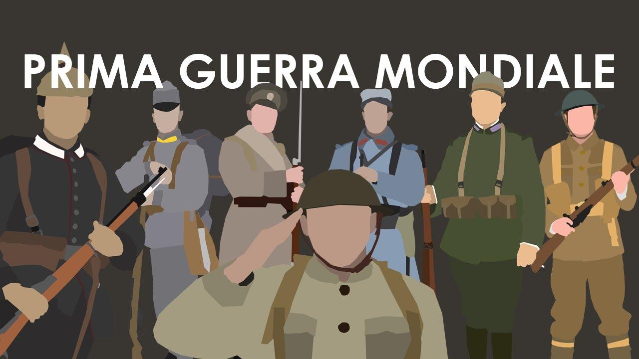 Cartina Storica Prima Guerra Mondiale.La Prima Guerra Mondiale Youtube