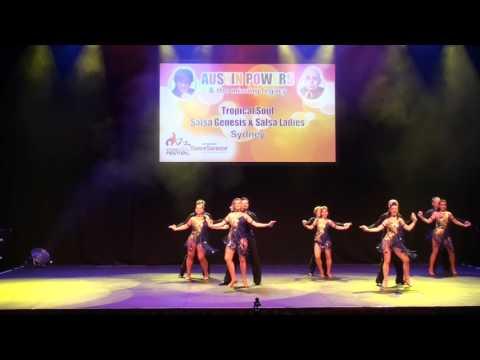 Sydney Latin Festival 2017 - TROPICAL SOULS SALSA GENESIS & LADIES