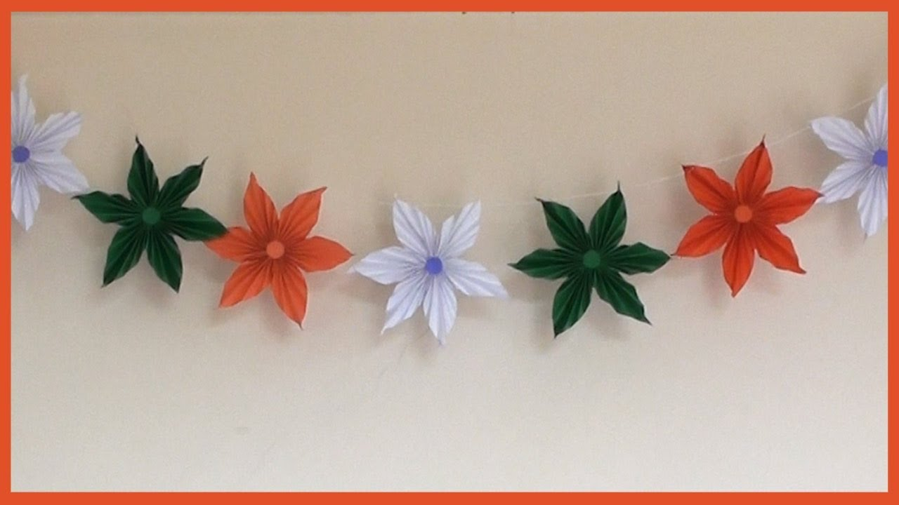 Independence Day Decoration Ideas Youtube