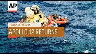 Apollo 12 Returns - 1969 | Today In History | 24 Nov 18