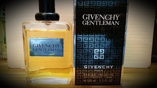 Givenchy Gentleman Fragrance Review (1974)