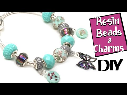 Resin beads- Miniature Sweet- UV resin- DIY- Tutorial