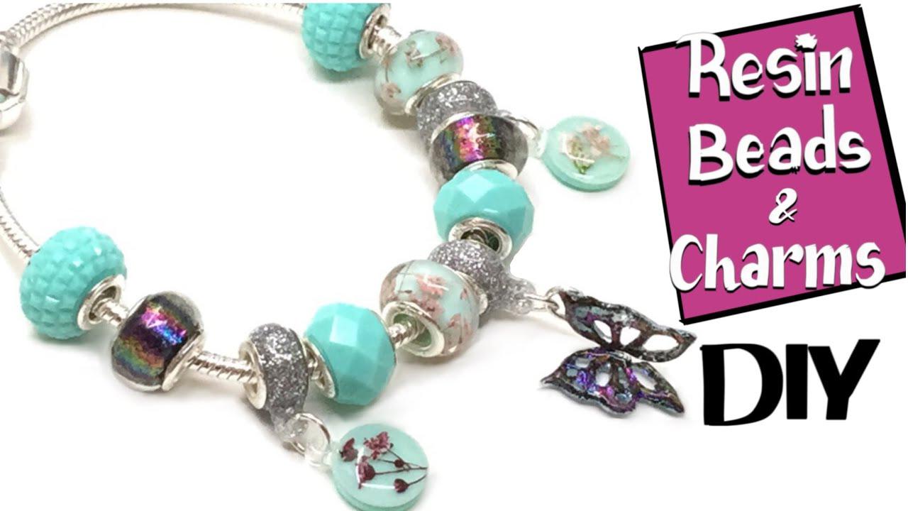 Resin Beads Miniature Sweet Uv