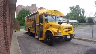 School bus transformed into food truck: Executive Grille on the Go