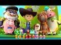 Funny Little Ducks | Ducks Song | Nursery Rhymes Songs For Babies | Kids Song By Little Eddie
