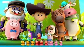 Funny Little Ducks   Ducks Song   Nursery Rhymes Songs For Babies   Kids Song By Little Eddie