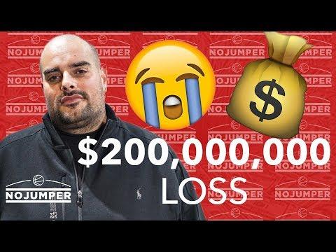 Berner talks about taking a 200 MILLION DOLLAR loss