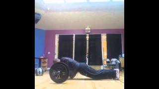 "Fit Fury Freestyle bodyweight Plyos! ""If Heaven was a mile away"" by Nas"