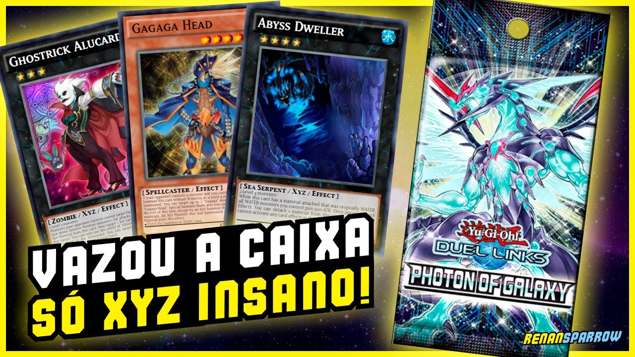 NOVA BOX: PHOTON OF GALAXY! ANÁLISE COMPLETA 🤯 - Yu-Gi-Oh! Duel Links #1294