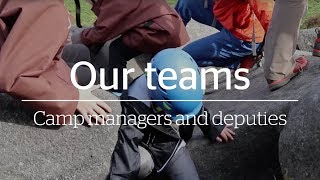 Our teams - YHA Camp Managers & Deputies 'You'll learn a lot about yourself'