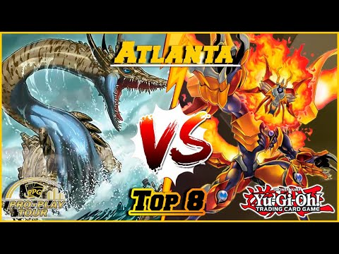 YGO Atlanta Pro-Play Tour Top 8 - Salamangreat VS Danger! Thunder Dragons