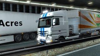 Аварии, Смешные Моменты, Угар, Поляки и Турки  - Euro Truck Simulator 2 Multiplayer
