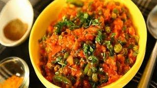 Home-made Baingan Ka Bharta (mashed Eggplant) By Seema