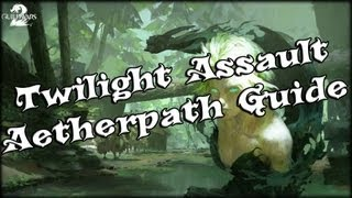 Guild Wars 2 - Twilight Arbor New Path (aetherpath) Guide!