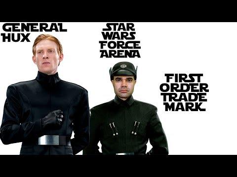 General Hux & First Order Officer Decks SWFA Star Wars Force Arena