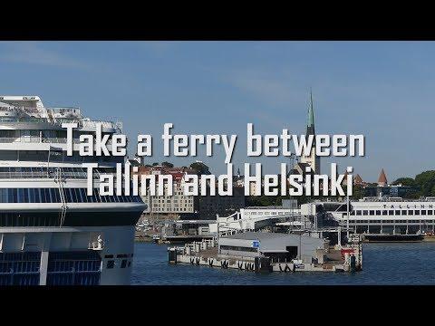 Take a ferry between Tallinn and Helsinki