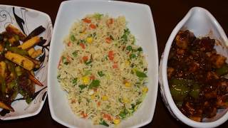 Quick Indian Chinese Recipes |  Easy Recipes For Dinner | Chili Paneer & Crispy Baby Corn Recipes