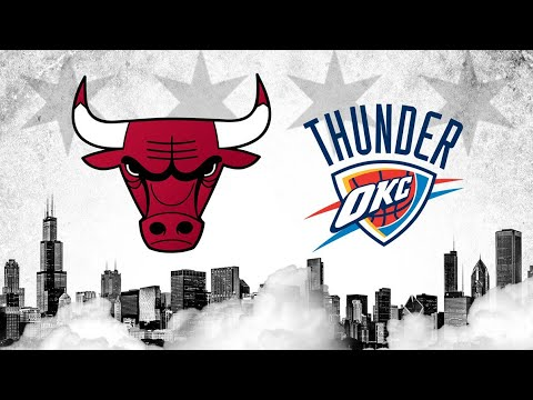NBA live 18-THE ONE LEAGUE. CHICAGO BULLS (VS) OKLAHOMA CITY THUNDER.