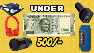 5 Amazing Cool Gadgets Under 500Rs | 5 Gadgets You Must Buy Right Now Amazon | 2017-18