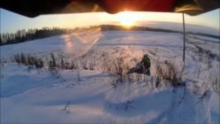 Экстрим снегоходы Болгуры Arctic Cat Новый Год